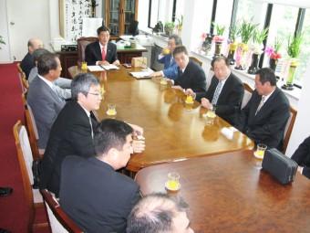 2010年執行部役員表敬訪問